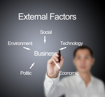 external environmental factors affecting the organized External environment analysis (2010), explains that all the factors outside the organization that effect the business are studied under external environment analysis these factors effect the strategy formulations organized: - resources of an.
